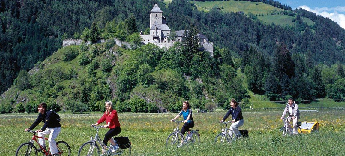 Vacanza in mountain bike a Racines